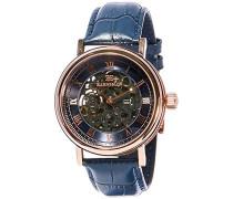 Erwachsene Analog Automatik Smart Watch Armbanduhr mit Leder Armband ES-8806-03
