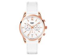 Armbanduhr Pimlico Chronograph Quarz Leder HL39-CS-0126