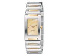 Armbanduhr Analog Quarz Edelstahl ES100042002