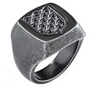 Sigel Edelstahl mit - Ringgröße 59 (18.8) SAKB23019