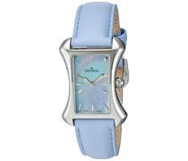4422.1535 Women'schweizer Uhr Armbanduhr Analog Leder blau