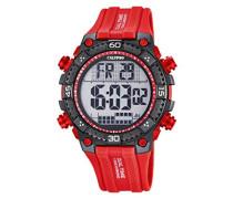 -Armbanduhr Digital Digital Plastik K5701/2