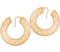 Melrose - Damen Ohrringepaar aus Bronze
