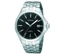 Uhren Armbanduhr Klassik Analog Quarz Edelstahl PS9089X1