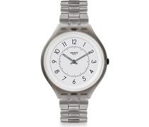 Erwachsene Digital Quarz Uhr mit Edelstahl Armband SVUM101G