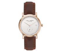 Damen-Armbanduhr LW37 Analog Quarz Leder 137RWBL