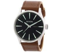 Herren-Armbanduhr Analog Leder A1051037-00