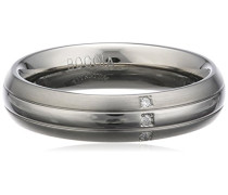 Damen-Ring Titan Diamant weiß,