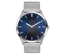 Analog Quarz Uhr mit Edelstahl Armband SO-3478-MQ