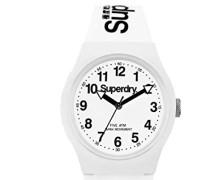 Analog Quarz Uhr mit Silikon Armband SYG164WW