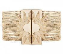 Damen-Manschetten Armbänder Vergoldet E18SFOREGO