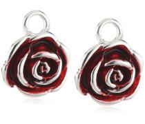 Ohring Einhänger für Creolen 925 Silber rose LD MR 48