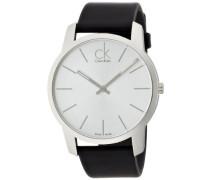 Herren-Armbanduhr Analog Quarz Leder K2G211C6