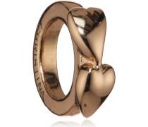 Bead/Charm 925SI Double Heart