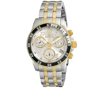 Damen- Armbanduhr Chronograph Quarz 15509
