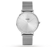 Damen Armbanduhr Analog Quarz Edelstahl CL18114