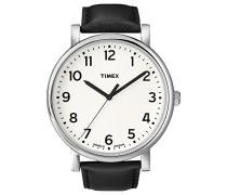 Damen-Armbanduhr Weiß Quarz Leder T2N338D7