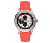 Herren-Armbanduhr XL Analog Quarz Silikon A13671G