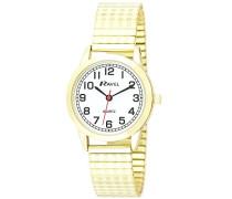 Analog Quarz Uhr mit Edelstahl Armband R0232.12.2