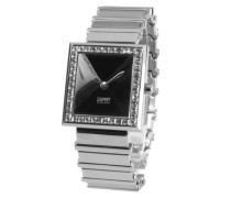 Damen-Armbanduhr XS Analog Edelstahl EL900442002