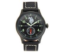 US Polo Association -Armbanduhr Analog USP4307BK_BK