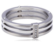 Damen-Ring Titan 5 Brillianten 0,025