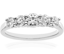 Ring Platin Pt 950 Diamant weiß 0