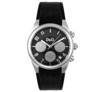 D&G Dolce&Gabbana Armbanduhr Analog Quarz Leder DW0259