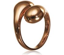 Jewelry Ring Messing aus der Serie mindfullness roségold beschichtet