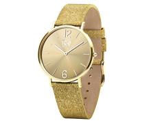 Ice Watch Analog Quarz Smart Armbanduhr mit Leder Armband 015081