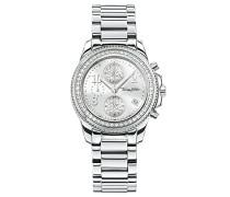 Armbanduhr Chronograph Quarz Edelstahl WA0240-201-201-33 mm