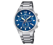 Herren-Armbanduhr Analog Quarz Edelstahl 10125/3