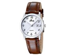 Damen-Armbanduhr Analog Quarz Leder 18240/2