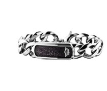 Herren-Charm-Armband Edelstahl PJ25696BSS.01-L