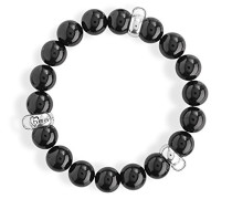 Armband für charms 925 Silber Perle creme 21 cm HB BL 07- L