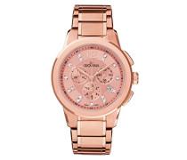 Armbanduhr Chronograph Quarz Gold 2094.9266