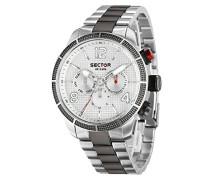 Analog Quarz Uhr mit Edelstahl Armband R3253575006