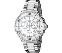 Armbanduhr Chronograph Quarz Edelstahl CAH1213.BA0863