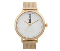 Analog-Digital Quarz Uhr mit Edelstahl Armband JC1G012M0075