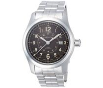 Analog Automatik Uhr mit Edelstahl Armband H70605193
