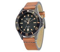 Armbanduhr 235 Analog Quarz Leder R3251161014