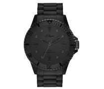 Time Erwachsene Zeitlernuhr Quarz Uhr mit Silikon Armband SO-3414-PQ