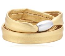 Damen Armband Edelstahl Leder 51607547G1