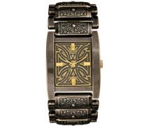 Herren-Armbanduhr Analog Quarz Leder W12006G1