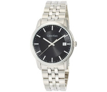 Digital Quarz Uhr mit Edelstahl Armband K5S31141
