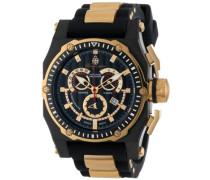 Armbanduhr für mit Analog Anzeige, Quarz-Uhr und Silikonarmband - Wasserdichte Herrenuhr mit zeitlosem