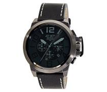 Armbanduhr San Remo Chronograph Quarz Schwarz J6190B-267