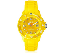 ICE forever Yellow - Gelbe Herrenuhr mit Silikonarmband - 000127 (Small)