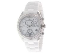 Armbanduhr Analog Quarz Premium Keramik Diamanten - ST13H07
