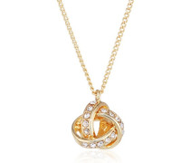 Damen Collier Vergoldet Kristall 601812081